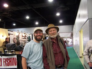 Tenkara Grasshopper and John Gierach Denver Fly Fishing Show 2012