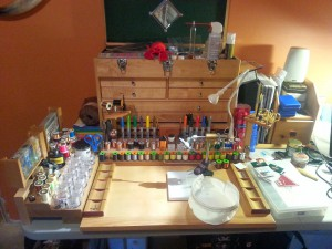 Finest Fly Tying Benches Of Colorado Photo Courtesy of Tenkara Grasshopper Media Services