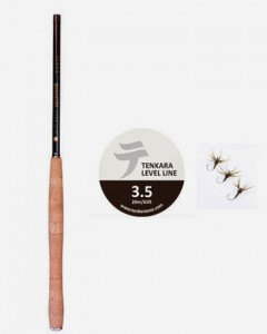 Tenkara USA 12' Iwana, #3.5 Level Line, Kebari Photo Courtesy of Tenkara USA