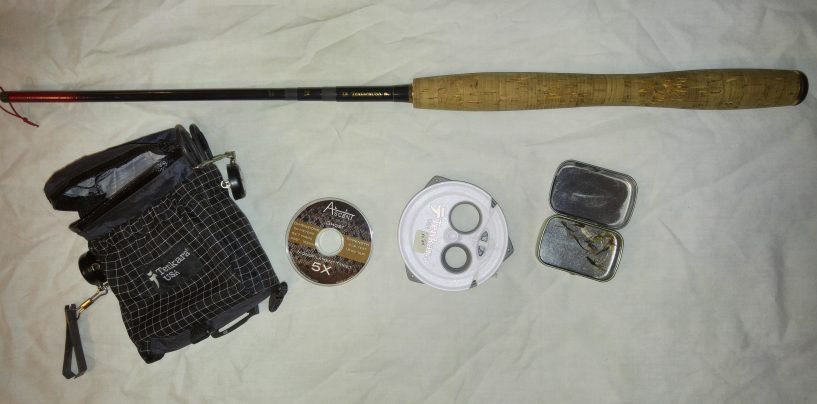 What is a backup tenkara rig?