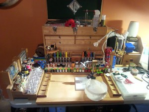 Finest Fly Tying Benches of Colorado Photo Courtesy of TenkaraGrasshopper Media Services